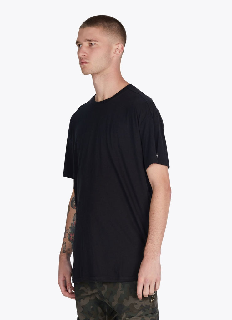 Super Rugger Tee Black from Zanerobe | t-shirts | Packyard