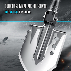 23-in-1 Multi-purpose Tactical Shovel