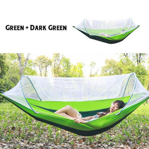 Lockmesh Camping Netted Hammock