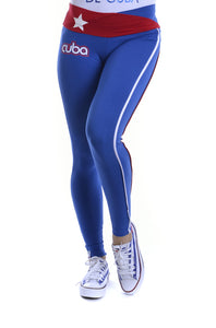 LEGGINGS DONNA ROYAL FRANCIS CUBA IN COTONE