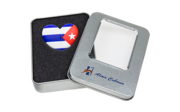USB CUORE CUBA 16gb KINGSTON BANDIERA CUBANA