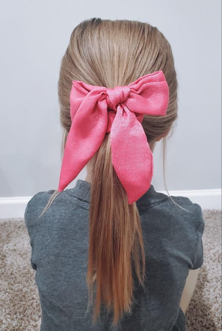 Short Bow Satin Scrunchie Collection - Soulful Scrunchies