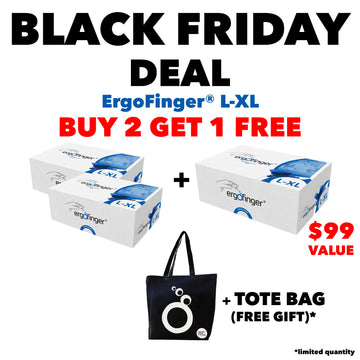 BLACK FRIDAY DEAL: BUY 2 GET 1 FREE ErgoFinger® L-XL