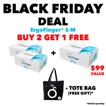 BLACK FRIDAY DEAL: BUY 2 GET 1 FREE ErgoFinger® S-M
