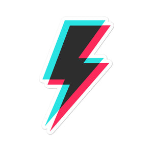 Lightning Sticker