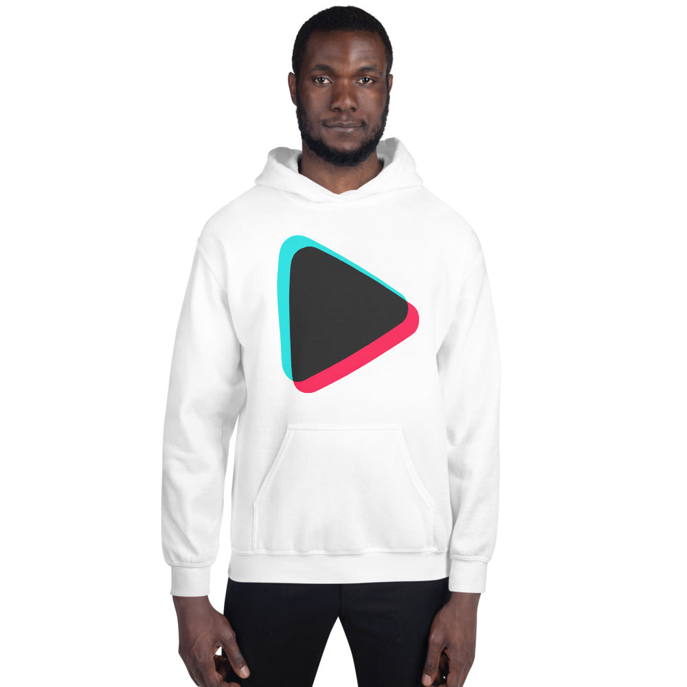 Play Button Hoodie Unisex