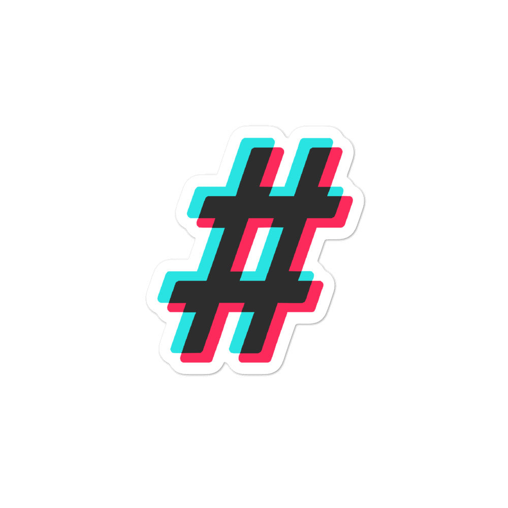 Hashtag Sticker