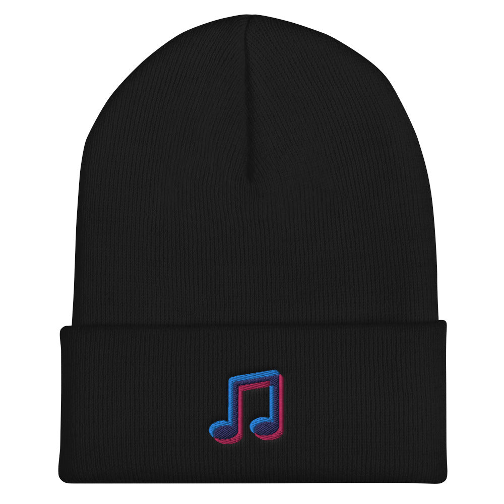 Cuffed Music Icon Beanie