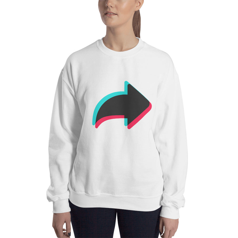 Send Icon Sweatshirt Unisex