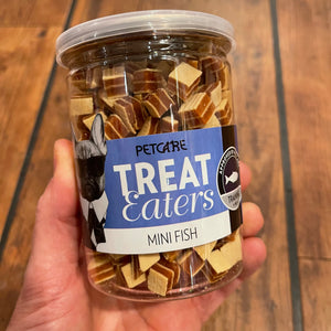 Mini fisk godbidder - Treat Eaters 200 gram
