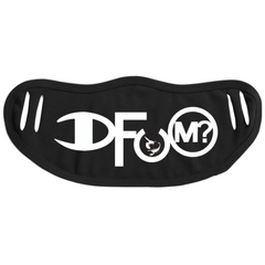 DFUM Logo Face Mask - Black