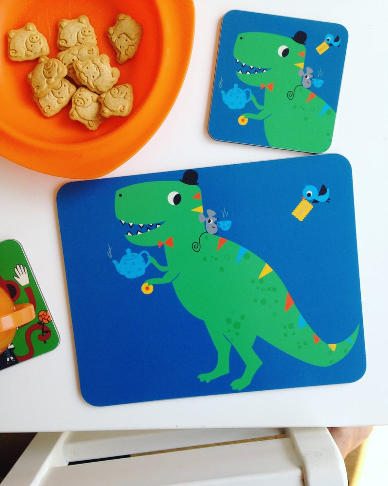 Melamine Placemat 'Tea Rex'