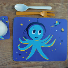 Load image into Gallery viewer, Melamine Placemat 'Outerspace Octopus'