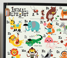 Load image into Gallery viewer, Animal Alphabet Print