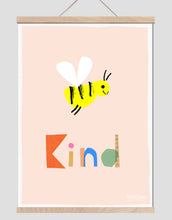 Load image into Gallery viewer, Bee Kind Art Print
