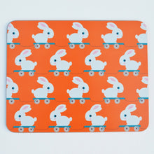 Load image into Gallery viewer, Melamine Placemat 'Meals on Wheels- Bunny