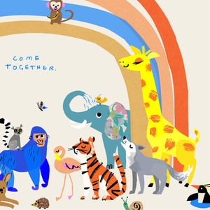 Come Together Rainbow Print