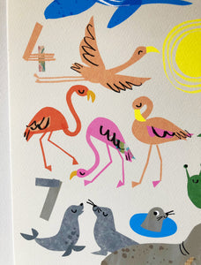 Counting Creatures GREAT & small print