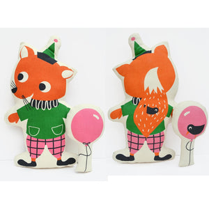 Tea Towel DIY Funny Fox toy