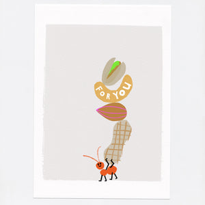 Mini Print ' Nuts for You '