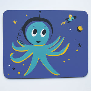 Melamine Placemat 'Outerspace Octopus'