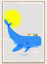 Load image into Gallery viewer, Whale Adventure Art Print
