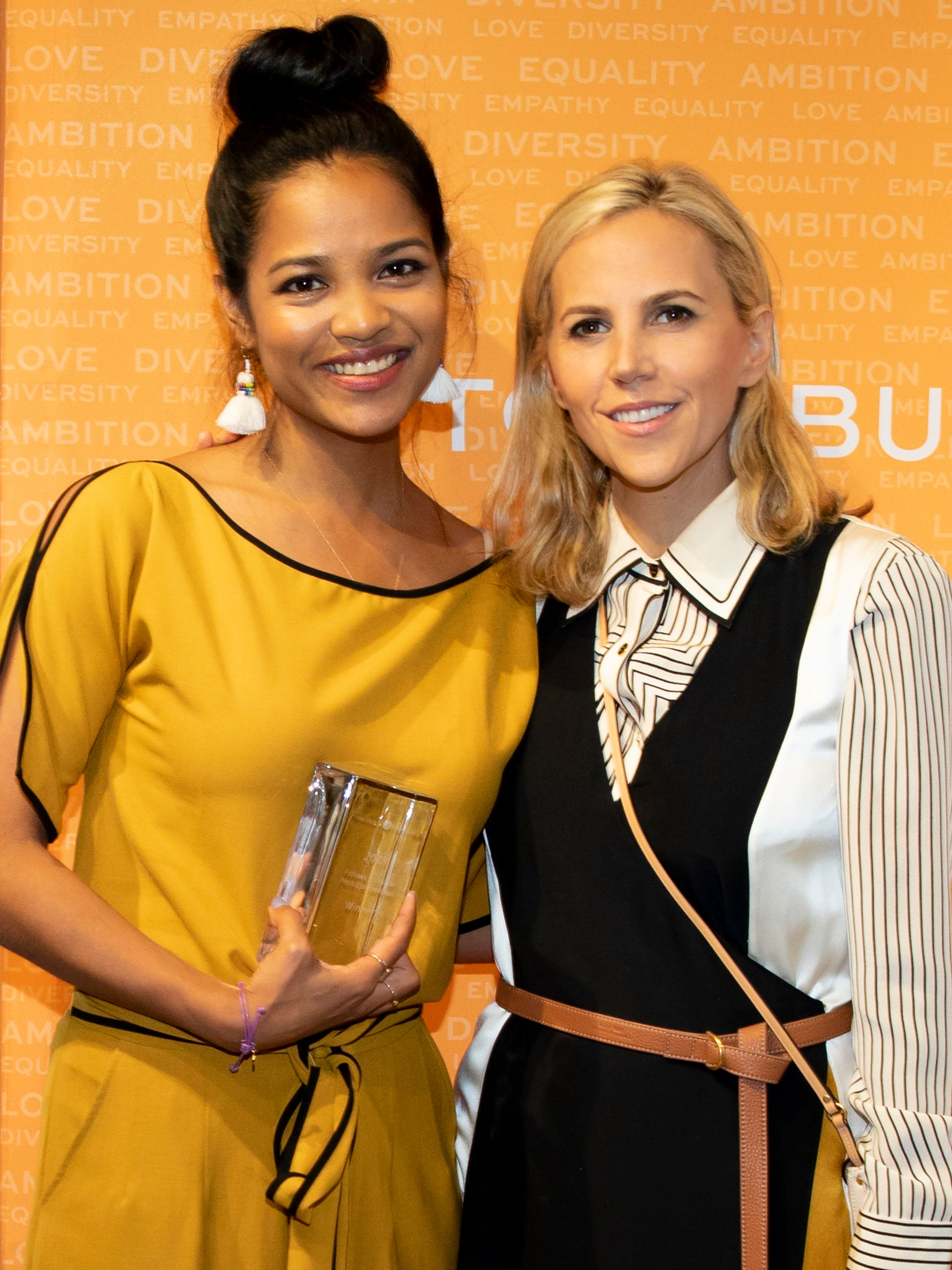 Tory Burch and Sashee Chandran _ Tory Burch Fellowship 2018