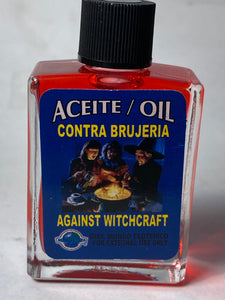 AGAINST  WITCHCRAFT OIL
