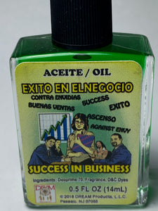 SUCCESS IN BUSINESS OIL