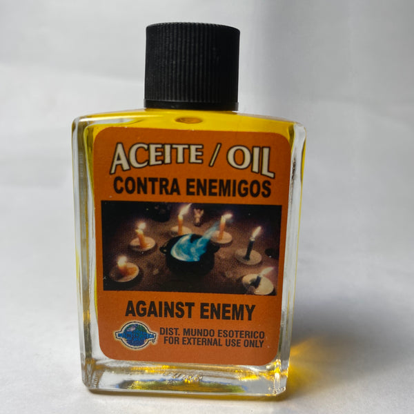 AGAINST ENEMY OIL