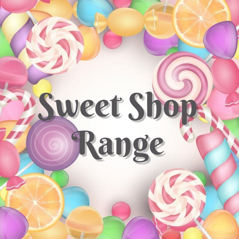 Body Scrub Sweet Shop Range
