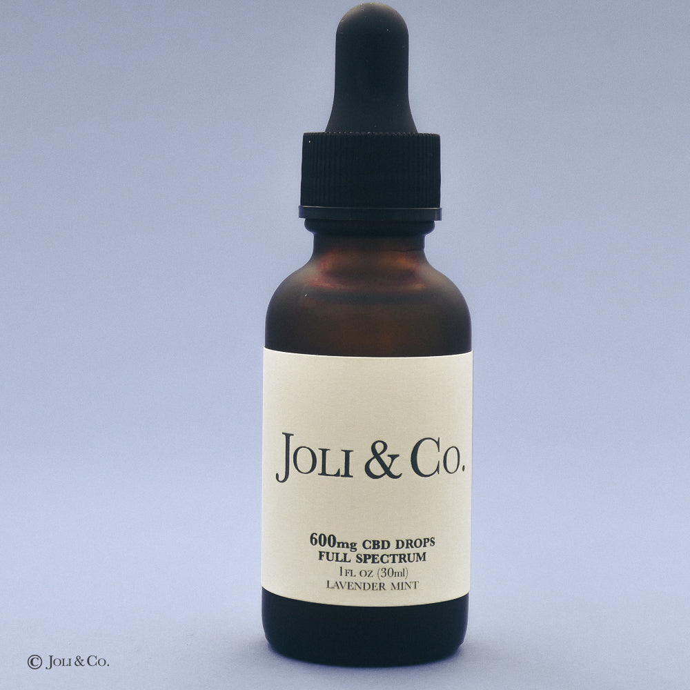 600mg Full Spectrum CBD Drops, Lavender Mint