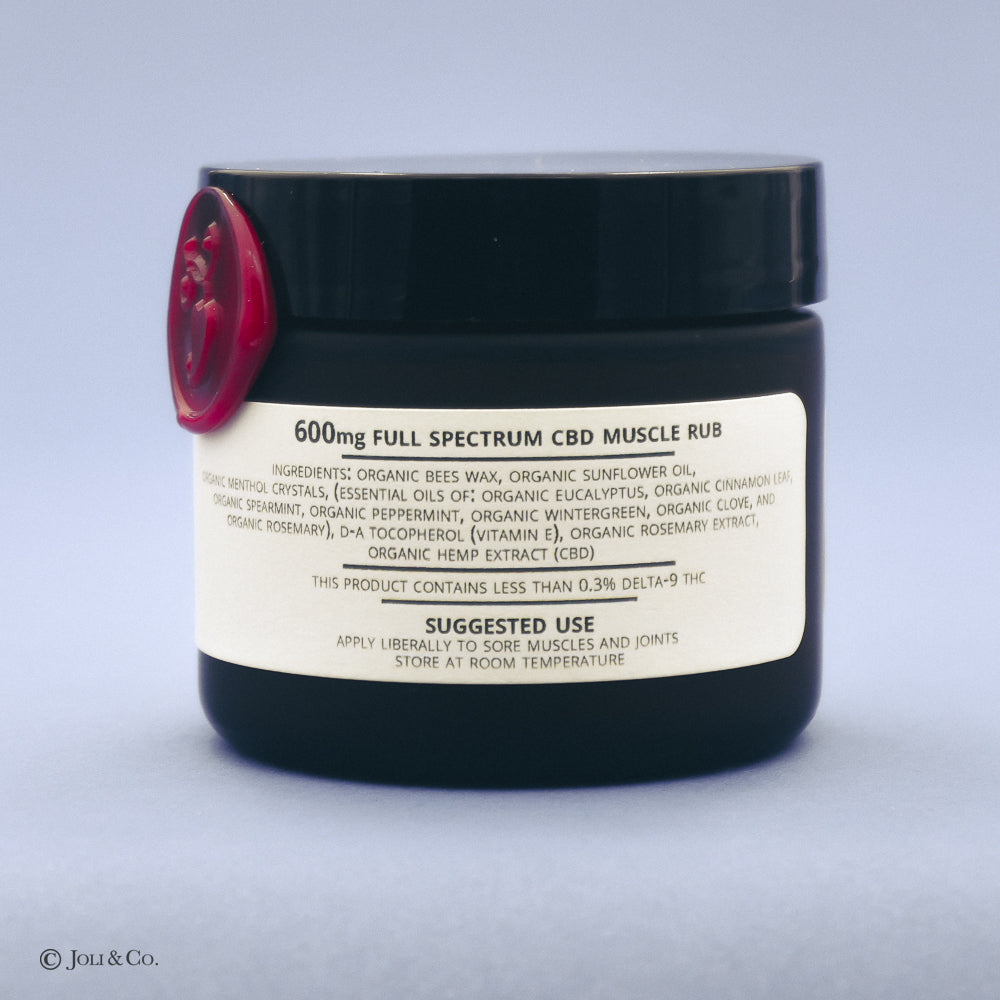 600mg Full Spectrum Muscle Rub