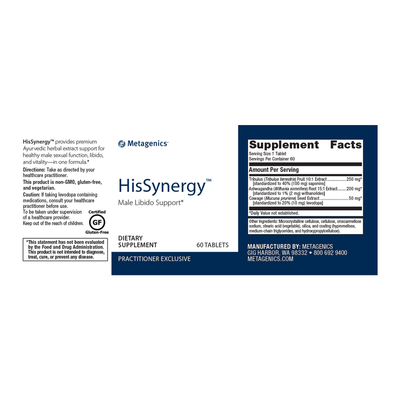 HisSynergy 60 Tablets