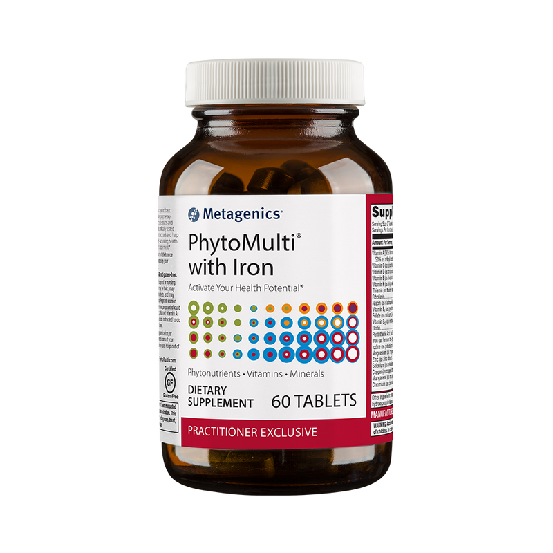 PhytoMulti with Iron 60 Tablets