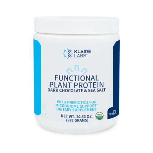 FUNCTIONAL PLANT PROTEIN DARK CHOCOLATE & SEA SALT 582 GM
