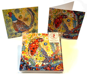 Christmas Card Collection - Robin & Pheasant