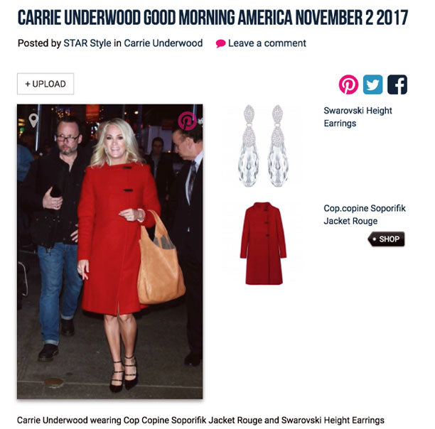 Star Style: Carrie Underwood