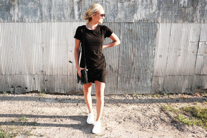 Black Tee Shirt Dress