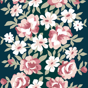 Apple Blossom Navy
