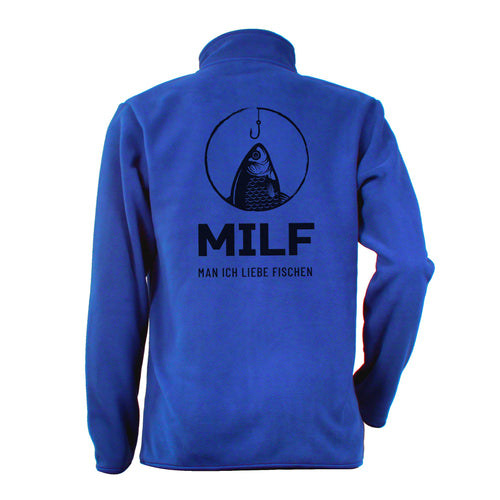 MILF Angler Fleece Jacke - aqua-wave.de