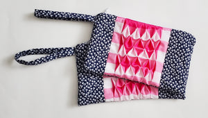 Smocked Tulip Pouch