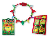 Flashing Holiday Bracelets