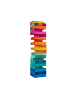 Giant Rainbow Jenga