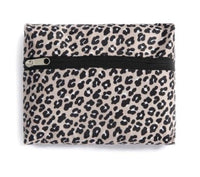 Animal Print Overnight Bag- foldable and collapsible!!