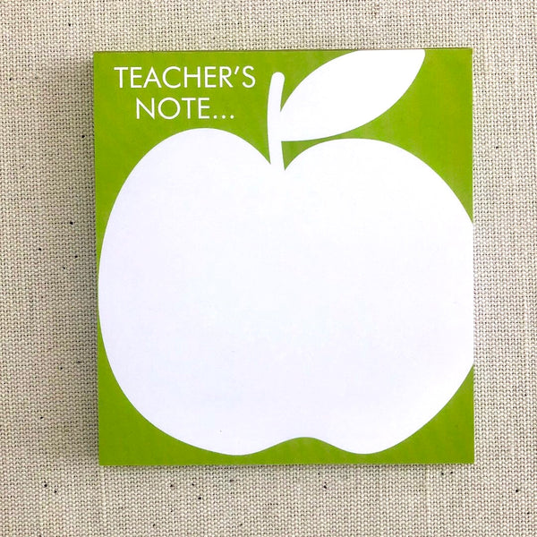 Large teacher notepad