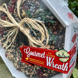 Pecan Birdseed Wreath