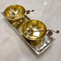 Mixed Metal Dip Set