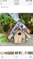 Holiday Birdie Cottage Birdhouse- 3 styles