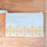 Glam Pouch, Sky Blue